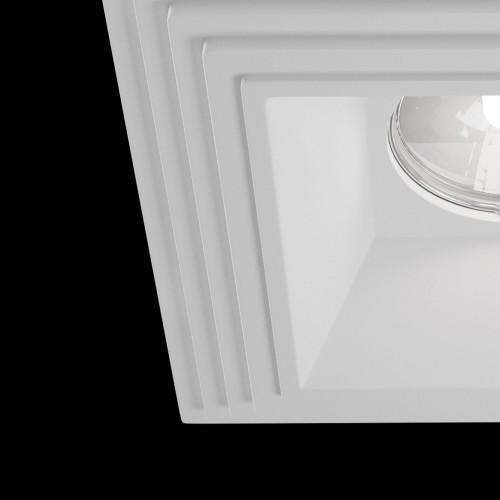 Встраиваемый светильник DL005-1-01-W Gyps Modern Maytoni Technical