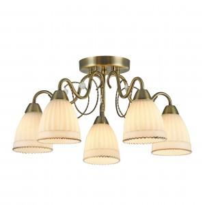 Потолочный светильник FR2757-PL-05-BZ Letizia Classic Freya
