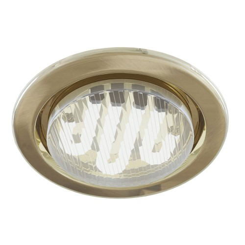 Встраиваемый светильник DL293-01-BZ Metal Modern Maytoni Technical