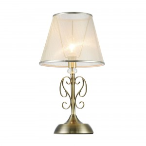 Настольная лампа FR2405-TL-01-BS Driana Classic Freya