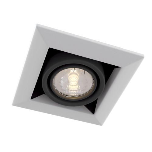 Встраиваемый светильник DL008-2-01-W Metal Modern Maytoni Technical