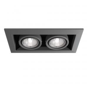 Встраиваемый светильник DL008-2-02-S Metal Modern Maytoni Technical