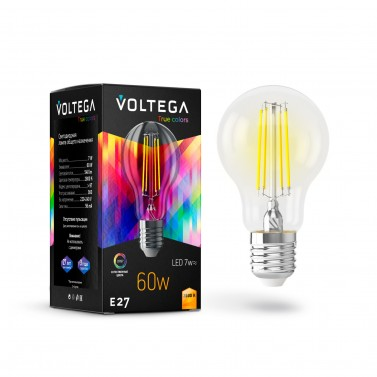 Лампочка General purpose bulb E27 7W High CRI 7154 Crystal Voltega