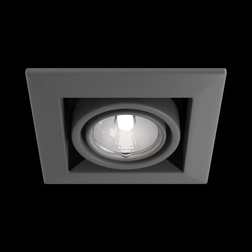 Встраиваемый светильник DL008-2-01-S Metal Modern Maytoni Technical