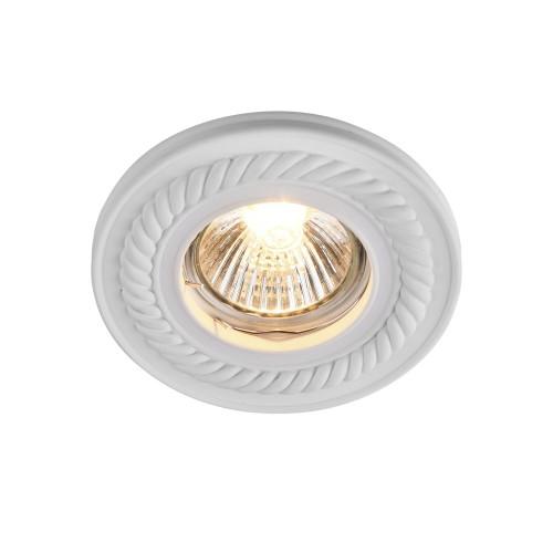 Встраиваемый светильник DL283-1-01-W Gyps Classic Maytoni