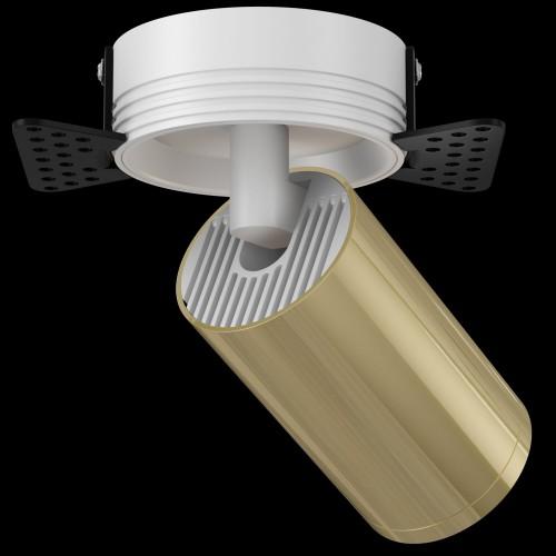 Встраиваемый светильник C058CL-1WG FOCUS S Maytoni Technical