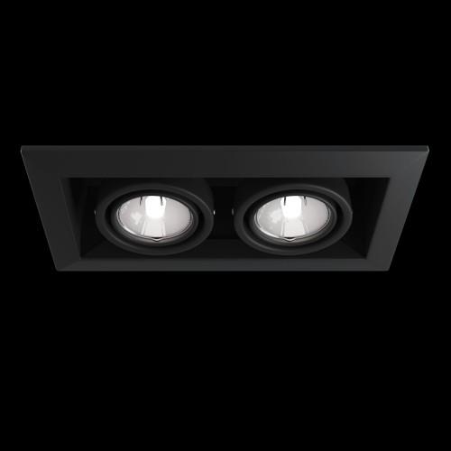 Встраиваемый светильник DL008-2-02-B Metal Modern Maytoni Technical