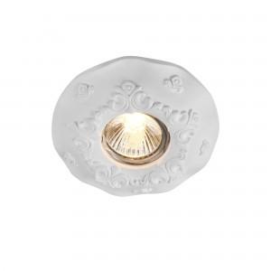 Встраиваемый светильник DL284-1-01-W Gyps Classic Downlight Maytoni