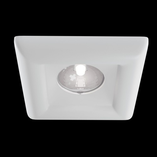 Встраиваемый светильник DL007-1-01-W Gyps Modern Maytoni Technical