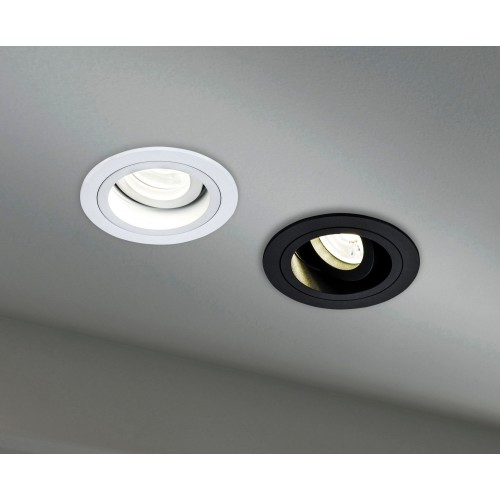 Встраиваемый светильник DL025-2-01B Atom Maytoni Technical