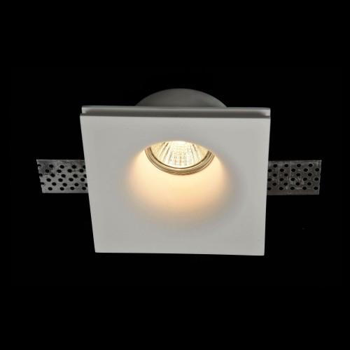 Встраиваемый светильник DL001-1-01-W Gyps Modern Maytoni Technical