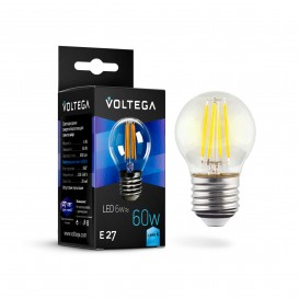 Лампочка Globe E27 6W 7024 Crystal Voltega