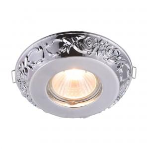 Встраиваемый светильник DL300-2-01-CH Metal Classic Downlight Maytoni