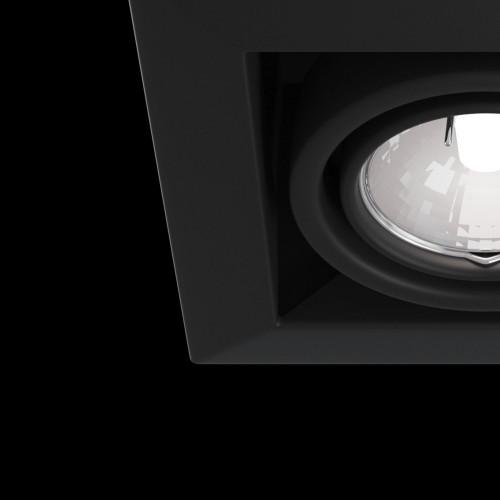 Встраиваемый светильник DL008-2-01-B Metal Modern Maytoni Technical
